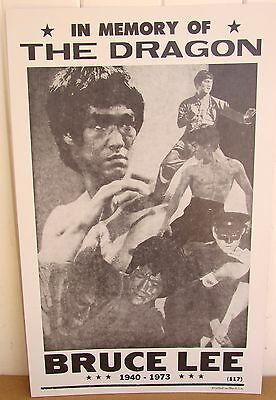 Bruce Lee Poster The Dragon Poster