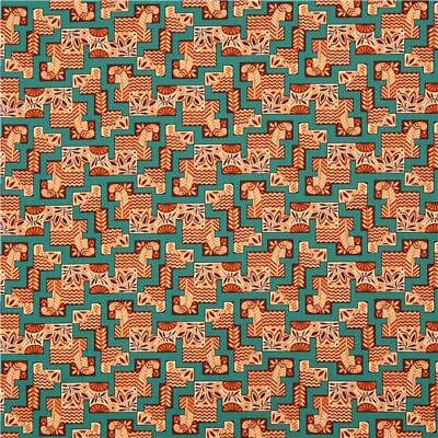 The Egyptian Collection 7624 KO  Cotton Fabric BTY Andover Downton Abbey 2