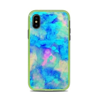 Skin for LifeProof SLAM iPhone X - Electrify Ice Blue by Amy Sia - Sticker Decal