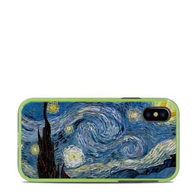 Skin for LifeProof SLAM iPhone X - Starry Night - Sticker Decal