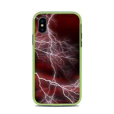 Skin for LifeProof SLAM iPhone X - Apocalypse Red - Sticker Decal