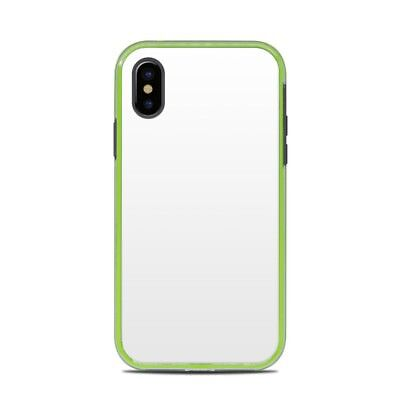Skin for LifeProof SLAM iPhone X - Solid White - Sticker Decal