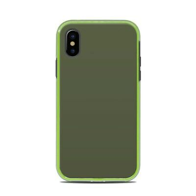 Skin for LifeProof SLAM iPhone X - Solid Olive Drab - Sticker Decal