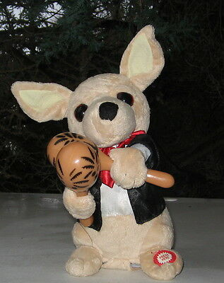 Chihuahua Musical Plush Toy Singing And Shaking