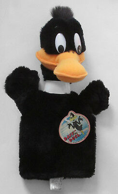 Daffy Duck Plush Hand Puppet Vintage New w/tag
