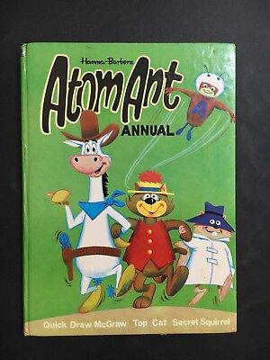 Hanna Barbera Atom Ant Annual From 1968