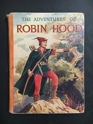 ROBIN HOOD ANNUAL THE ADVENTURES OF FROM 1950's