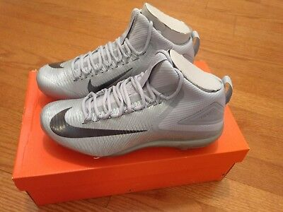 9dff668f07f  140 NIKE FORCE Zoom TROUT 3 Metal Baseball Cleats Wolf Grey Size 11 856503-001  -  39.99