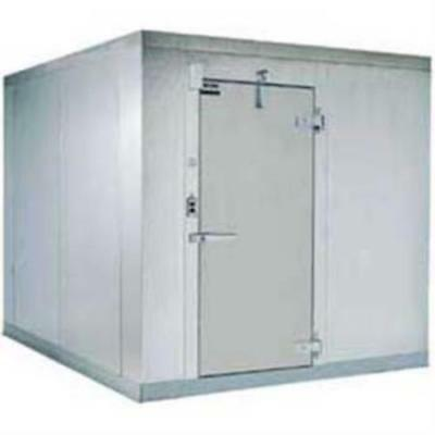 Used 10' X 10' Indoor Walk In Refrigeration Cooler Unit (Not Assembled)