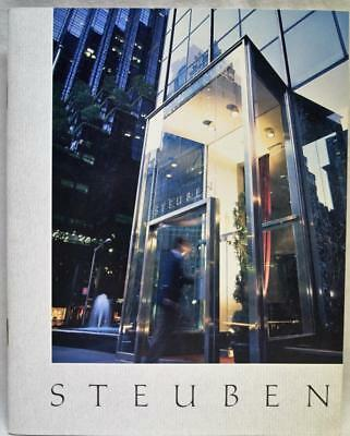 Steuben Glass Company Advertising Sales Catalog & Price Guide 1990 Vintage