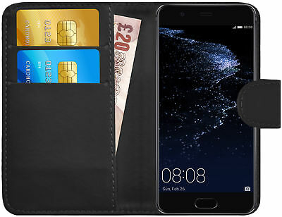 G-Shield® Premium Luxury Leather Magnetic Flip Wallet Case Cover For Huawei P10
