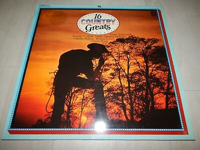 LP Ernie Ashworth, Tommy Collins,.. 16 Country Greats NEAR MINT sonocord