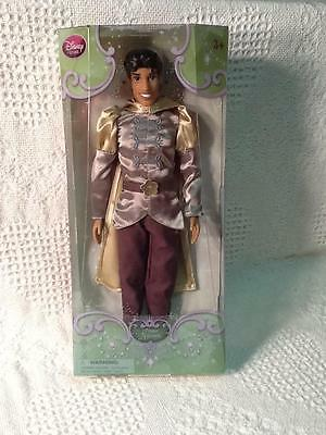 "Disney Classic  Prince Naveen 12""  Doll The Princess and the Frog New in Box"
