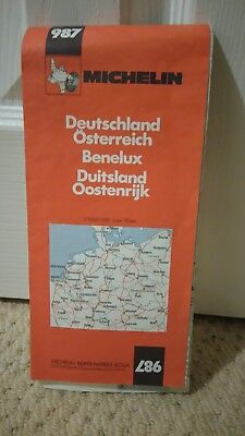 michelin road map no987 germany and austria
