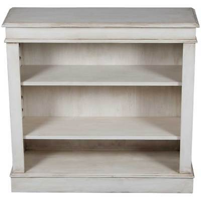 Vintage Antique Style Painted Small Bookcase Bookshelf Adjustable Home Office FS