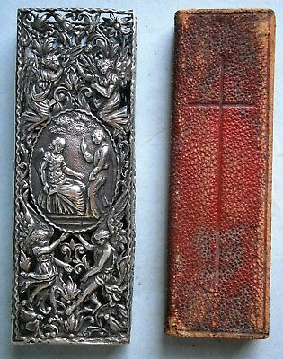 "19th Century ""The Finger Prayer Book"" in Sterling Silver Case by Oxford Press"