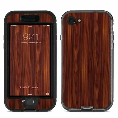 Skin for LifeProof NUUD iPhone 7/8 - Dark Rosewood - Sticker Decal