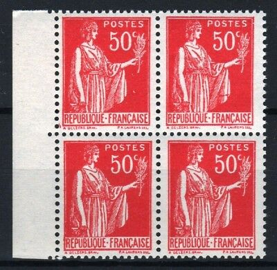 "FRANCE STAMP TIMBRE 283 s "" PAIX 50c FAUX DE BARCELONE BLOC 4"" NEUF xx LUXE R773"