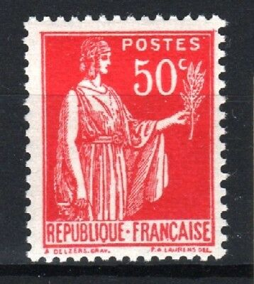 "FRANCE STAMP TIMBRE 283 s "" PAIX 50c FAUX DE BARCELONE "" NEUF xx LUXE R771"