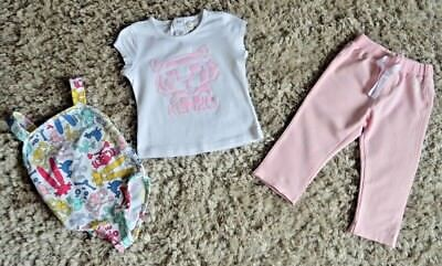 Baby Girls Kenzo Designer Clothes Tiger T-shirt Joggers Swim Wear 2 Years Vgc