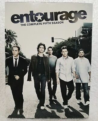 ENTOURAGE The Complete Fifth 5 Five Season (DVD, 2009, 3-Disc Set) New No Sealed