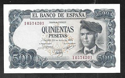 Spain - Obsolete 500 Pesetas Note - 1971 - P153 - AU