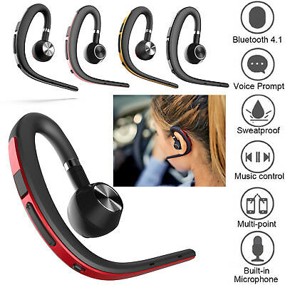 Wireless Bluetooth Headset In Ear Headphone for Android Samsung S8 S9 A5 A7 Note