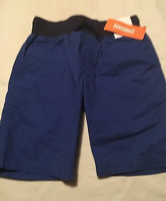 NWT Boys Gymboree red white blue short sleeve shirt /& elastic waist shorts ~ 4 5
