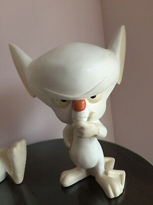Warner Brothers Animaniacs - PINKY AND THE BRAIN, Brain only! STATUE FIGURE 1997