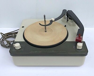 1957 VOICE OF MUSIC Record Player Changer Turntable 1225GE Cartridge 16-33-45-78