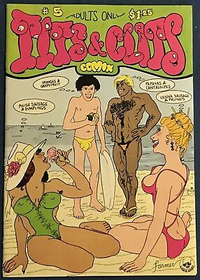 Tits And Clits #5  Underground Comix  1st Printing  1979