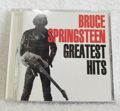 GREATEST HITS by Bruce Springsteen (CD, Feb-1995, Columbia Records USA) Used