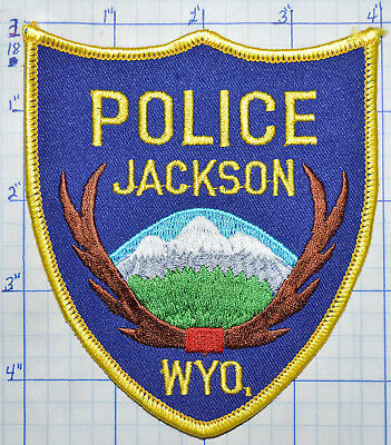 Wyoming, Jackson Police Dept Scenic Patch