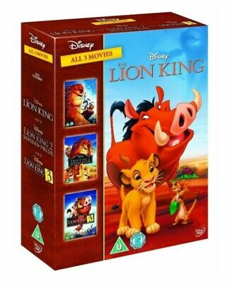The Lion King 1-3 [DVD]