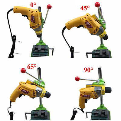 Electric Stand 90° Rotating Bracket Bench Drill Carrier Drill Fixed Frame Mini