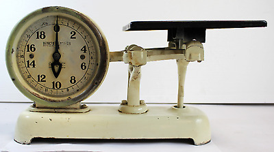 Vintage Cast Iron Detecto Scale Antique White (690)