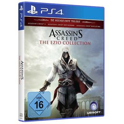 Assassins Creed 2 Brotherhood Revelations Ezio Collection Sony PS4 Spiel, NEU