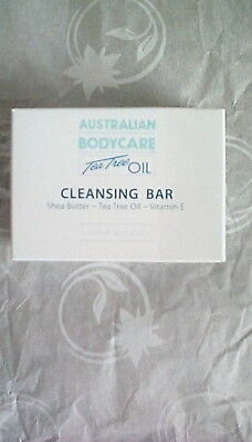 Australian Bodycare Tea Tree Oil Cleansing Bar 100g BNIB