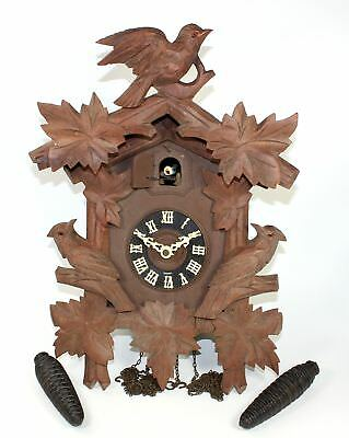 Vintage Eduard Herr Sohne Regula 30 Hour Cuckoo Clock Clock - Parts/repair Mc96