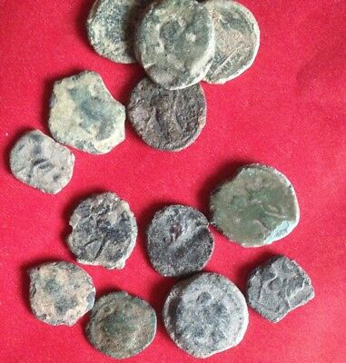 Mixed Quality Ancient Roman Coins; Castulo- Bulls, Horse, PER coin buying !!