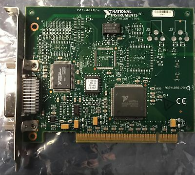 National Instruments PCI-GPIB/+ IEEE 488.2 DAQ Card 183617B-01