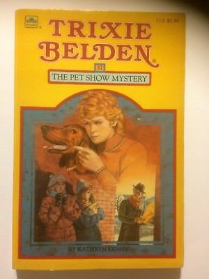 Trixie Belden: The Pet Show Mystery #37 by Kathryn Kenny 1985, Paperback
