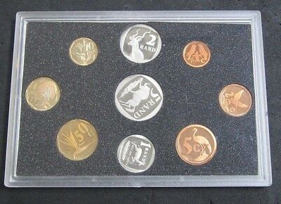 1995 South Africa 9-Coin Proof Set No Box or COA