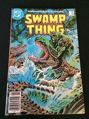SWAMP THING #32 Written by Alan Moore VF Condition