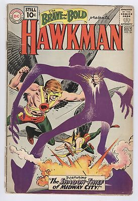 Brave And The Bold Comic #36 (1961) FR DC Silver Age Hawkman