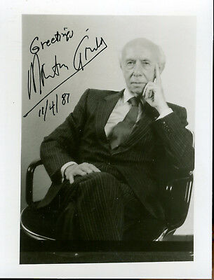Morton Gould Composer And Conductor Signed Photo