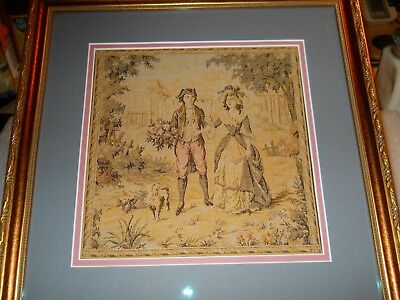 18th Century Tapestry Art - Exquisite Piece, Professionally Presented.