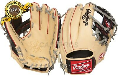"RAWLINGS Heart of the Hide 11.5"" Infield Glove, Pro I-Web -PRO204-2CBG"