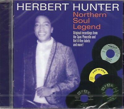 Herbert Hunter - Northern Soul Legend (Feat. Area Code 615 + Johnny Jones) CD