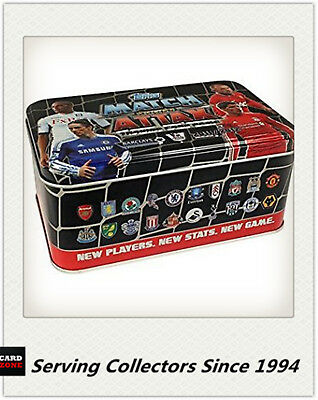 2011-12 Topps Match Attax EMPTY Metal Tin x 20tin--380 Card Storage+ Post Cards